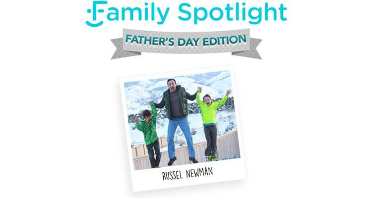 family spotlight father's day post