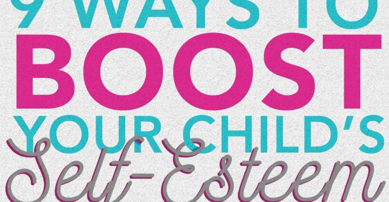 myFace blog ways to boost children's self esteem